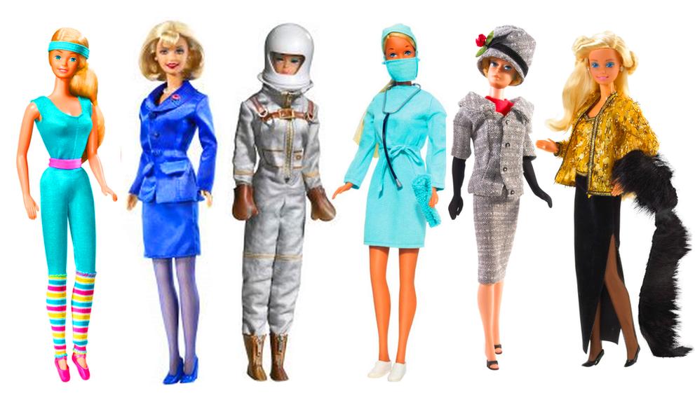 barbie mostra 3 immagine