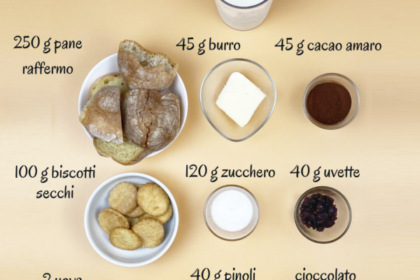 Ingredienti torta paesana